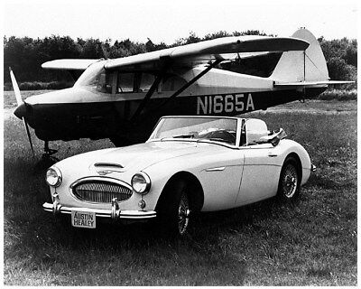 1966 Austin Healey 3000 Mark III Factory Photo cb0636