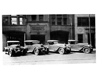 1924 Packard Six 226 Detroit Fire Department Chief Factory Photo cb0628