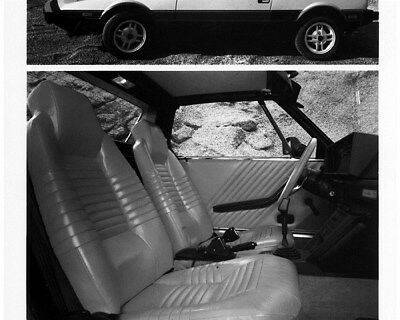 1984 Fiat Bertone X1/9 & Interior Factory Photo cb0624