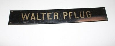 Original Antique Shield klavierbauer Piano Walter Pflug Vienna 8 approx. 1880
