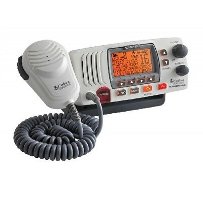 Cobra F77WEU Marine VHF DSC White Radio with GPS Built in