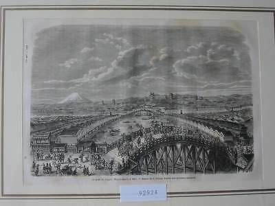 92924-Asien-Asia-Japan-Nippon-Nihon-Yedo-T Holzstich-Wood engraving