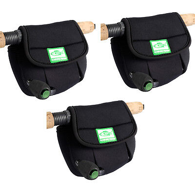 3 SF Spinning Reel Glove Protective Storage Bag Pouch Case Cover Fits up to 3000