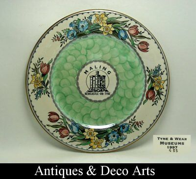 Porcelain Plate (D:28cm) with Lustre Glaze by Maling Tyne & Wear Museums 1997