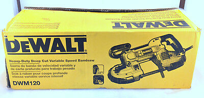 NEW Dewalt DWM120 10 Amp Deep Cut Band Saw