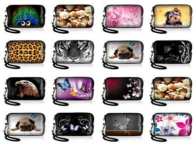 Strap Case Bag Cover Pouch for Panasonic Lumix Compact Pocket Digital Camera