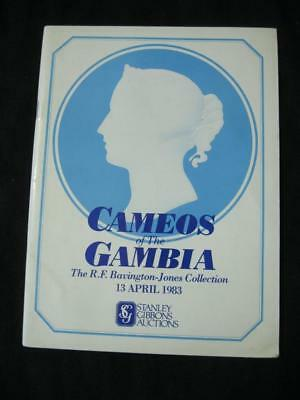"Stanley Gibbons Auction Catalogue 1983 Cameos Of The Gambia ""Bavington-Jones"""