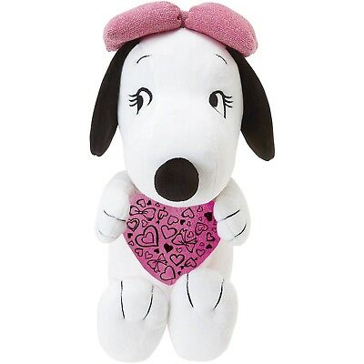 Peanuts by Schulz ‑ 10 Inch Heart Belle Plush - New in Plastic