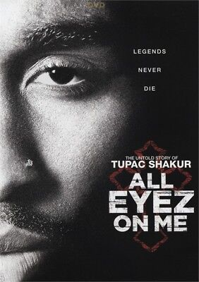 All Eyez on Me (DVD, 2017)