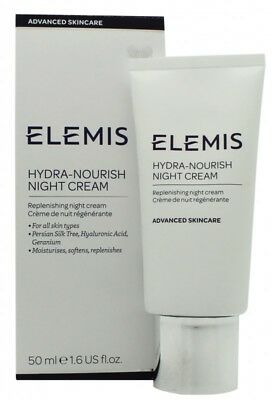 Elemis Hydra-Nourish Night Cream  - Women's For Her. New. Free Shipping
