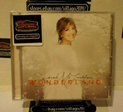 Sarah Mclachlan - Wonderland (Deluxe Edition) New Cd Free Shipping!!