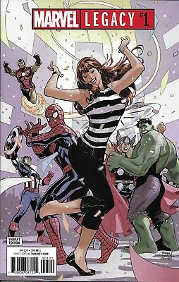 Marvel Legacy comic issue 1 Limited launch party variant