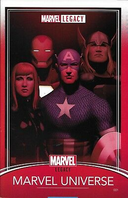 Marvel Legacy comic issue 1 Limited variant
