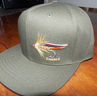 943407c6e83 Simms Fishing Products Trucker Hat in Trout Fly Loden NEW with FREE SHIPPING