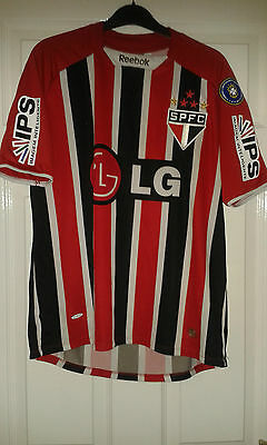 Mens Football Shirt - Sao Paulo Brazil Club Team - Away 2009 - RARE #10 - S