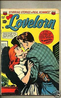 Lovelorn #34-1953 vg+/vg ACG Romance title / 5 stories