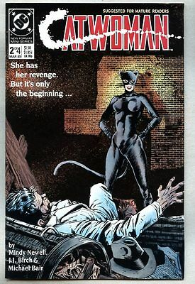 Catwoman #2-1989 fn+ 1st Catwoman series Batman