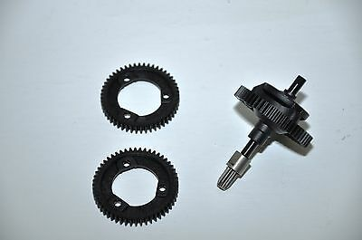 Traxxas Stampede 4wd 4x4 Center Differential Diff Kit w/ 3 Gears TRA6814 NEW