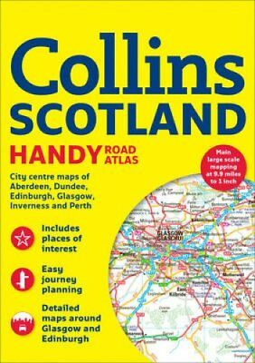 Collins Handy Road Atlas Scotland by Collins Maps 9780008232757