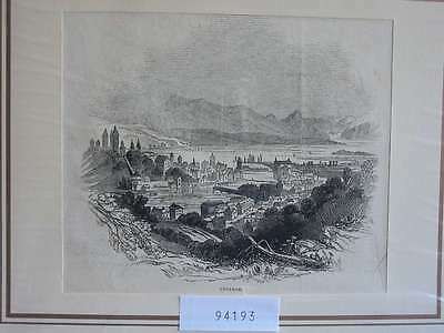 94193-Schweiz-Swiss-Switzerland-Luzern Lucerne-T Holzstich-Wood engraving