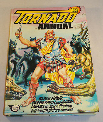 Tornado Annual 1981 Unclipped Very Good Condition