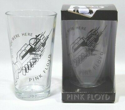 "PINK FLOYD musique 2 verres "" Wish you were here "" NEUF"