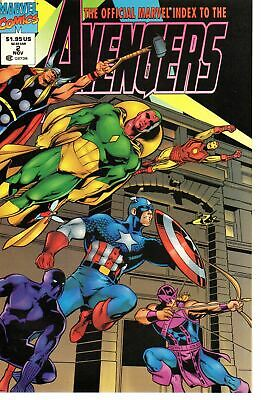 Official Marvel Index to the Avengers 2      Marvel 1994