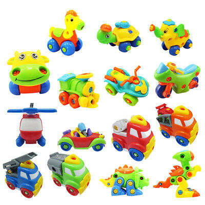VARIOUS Kids Children Baby DIY Disassembly Assembly Classic Educational Play Toy