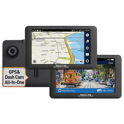 "Magellan RoadMate 6620-LM 5"" Touch GPS FHD Dash Cam WiFi w/North American Maps"