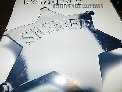 "Warren G ‎– I Shot The Sheriff USED 2x12"" 1997 Def jam records"