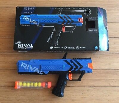Nerf Rival Apollo XV-700 Blue With Spare Magazine