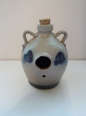 Mint Retired 1988 Rowe Pottery Saltglaze Birdhouse