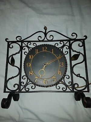 "Rare Vintage Smiths Sectric Mantle Clock "" Very Good Condition"""
