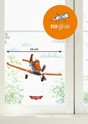 Kinder Disney Pixar Fenstersticker Planes Home Sticker Fensterbild Flugzeug