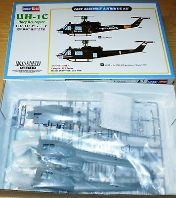 UH-1C Huey Helicopter von Hobby Boss in 1/48