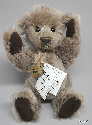 PS Baren Peter Steiner Artist Teddy Bear 2006 Fridolin Mohair Plush 23cm Signed