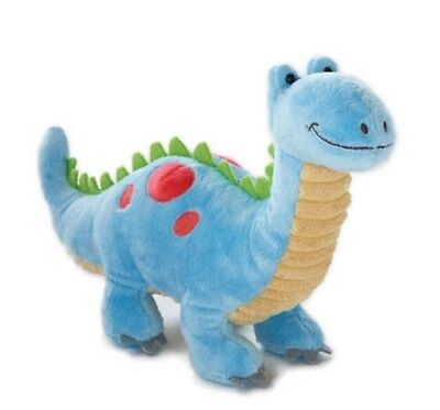 Mezo Pals Blue Dinosaur  Stuffed Toy by Nat and Jules