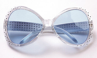 Silver 70's That's Hot Glasses Pop Rock Star Elton John Teen to Adult Size