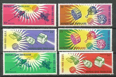 TOGO Scott# 500/505 MNH set. without Stamp hinges Year the calm Solar Space