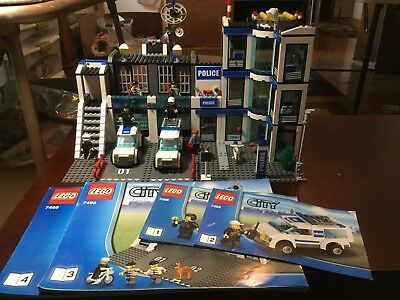 Lego Set 7498 Lego City Police Station Complete With Figures And