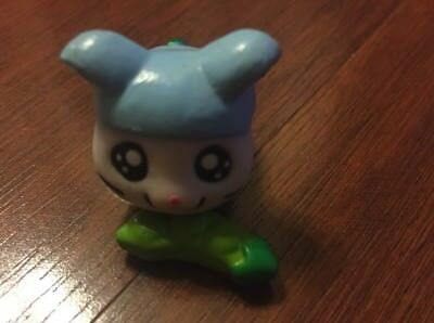 Hamtaro Pencil Topper Running Hamster Figure And Accessory