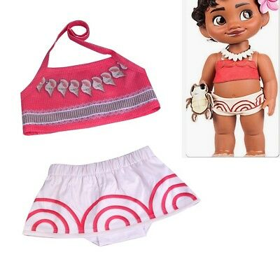 Moana Costume Baby Girl Swimwear Bikini Two-Piece Swimming Suit Swimmers Bathers