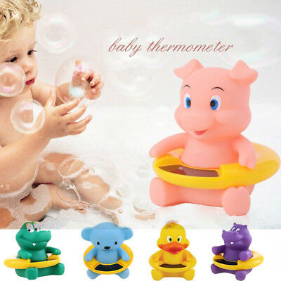 Baby LCD Floating Duck Digital Bath Thermometer Water Sensor Bathroom Safety Toy