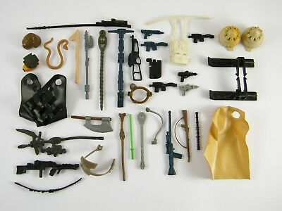 Vintage Star Wars *WEAPONS & ACCESSORIES* selection - please see photos!