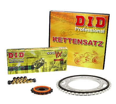 DID SILENT V+H Kettensatz GOLD KTM 1190 Adventure /R, 13-15; ENDLOS extra