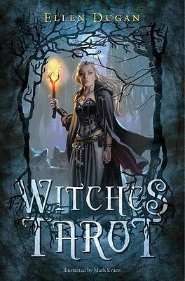 Witches Tarot Kit, Includes Deck & Book by Ellen Dugan!