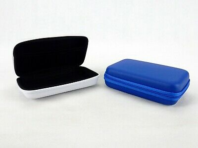 Zippered Storage Case w/Inside Mesh Pouch ~ Blue, White or Black ~ #IT904