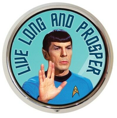 Pillendose Star Trek Spock Pillenbox Medikamentendose Tablettendose Enterprise