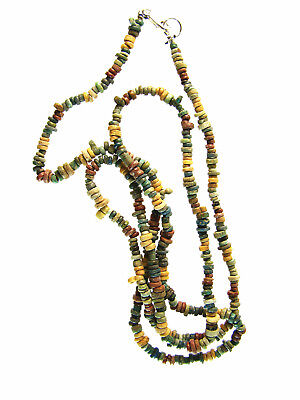 Egyptian Mummy Bead 27-Inch NICE Colors Restrung circa 600-300 BC or Earlier