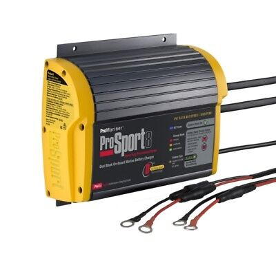 PROMARINER ProSport 8 Amp Dual Battery Charger  Part# 43008